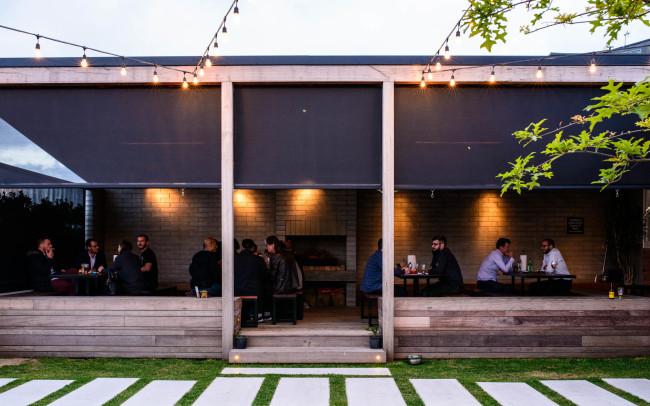 Brothers Beer Courtyard | Brewery Design | Award Winning | Bar Design